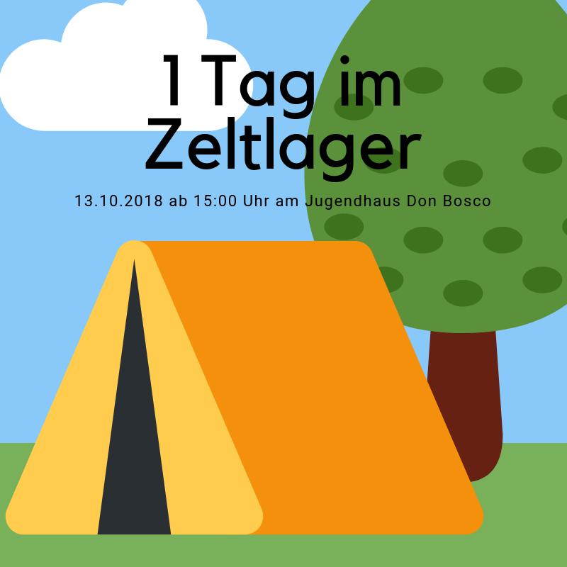 1 Tag im Zeltlager 2018
