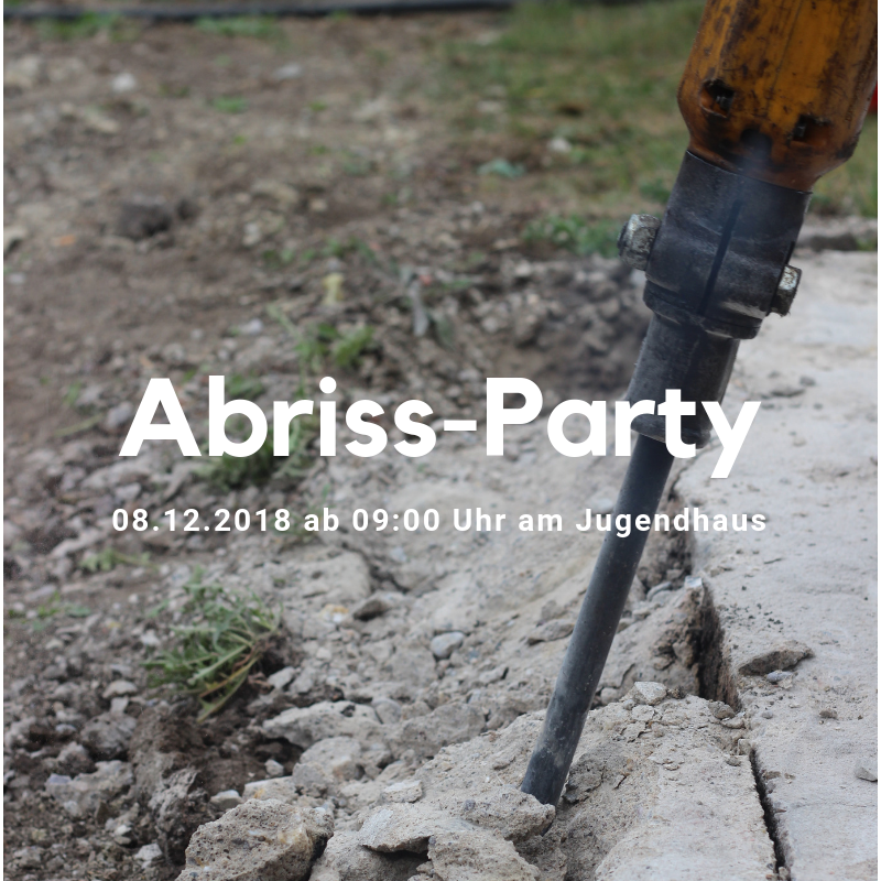 Abriss-Party